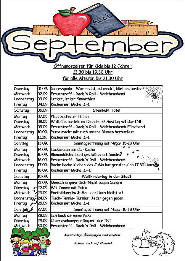 September programm